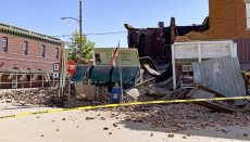 Post office Collapse Jamesport