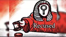 Recused News Graphic