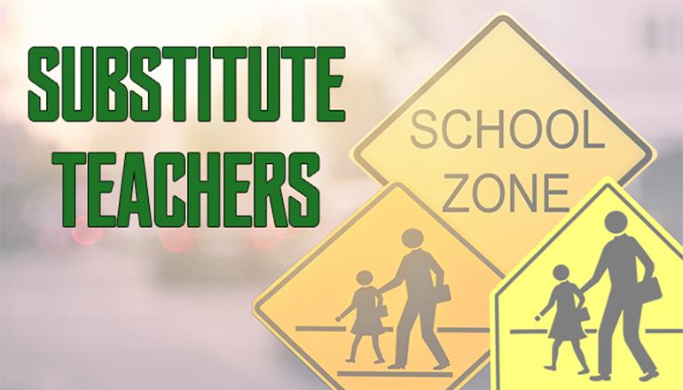 Substitute Teachers Graphic