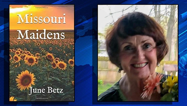 Trenton author June Betz releases new book Missouri Maidens