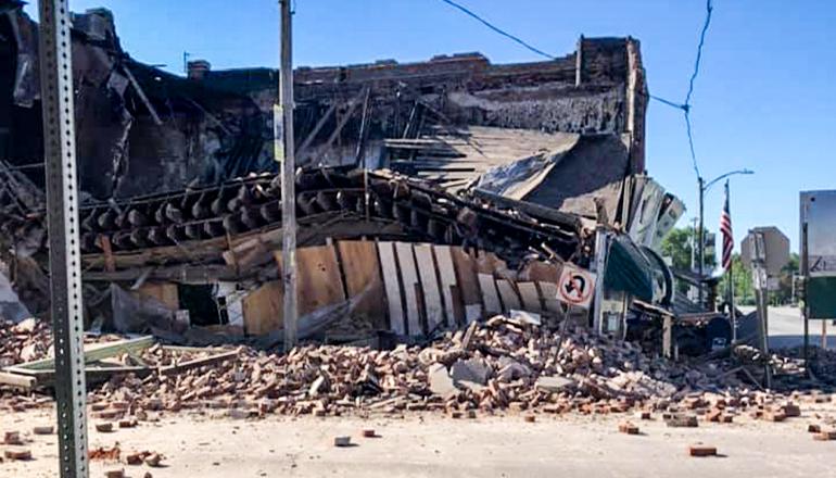 jamesport post office collaps