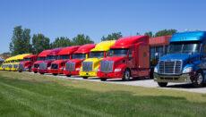 18-Wheel Semi Trailer Truck or Big Rig