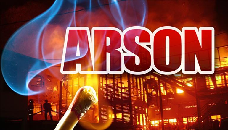 Arson News Graphic