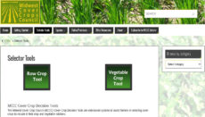 Cover Crop Tool