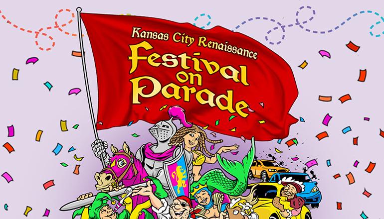 KC Renfest Festival on Parade