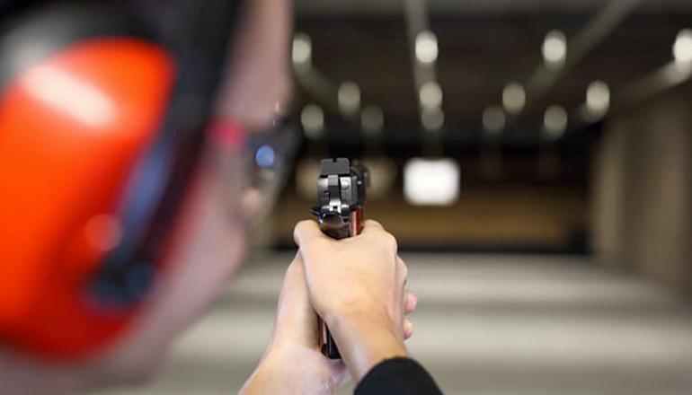 Handgun training or class