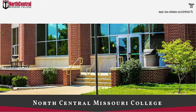 North Central Missouri College Website V1 (NCMC)
