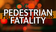 Pedestrian Fatality News Graphic