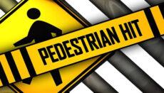 Pedestrian Hit News Graphic