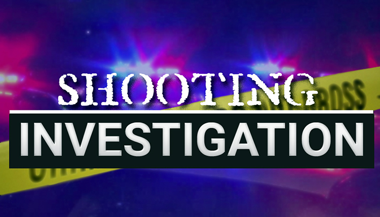 Shooting Investigation news graphic