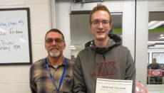 Tristan Cullum Putnam County Student of Month