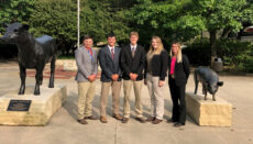 NCMC livestock judging team sept 2020