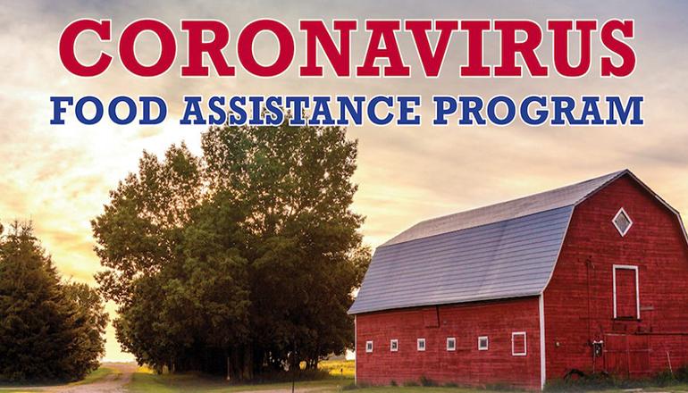 Coronavirus Food Assistance Program Graphic