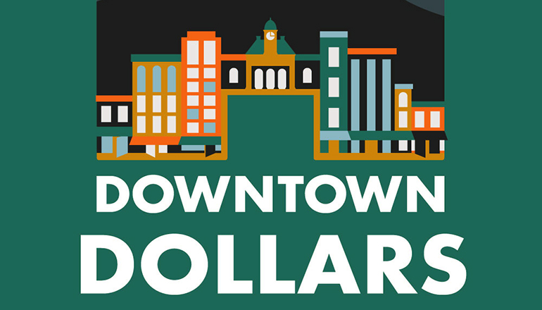 Downtown Dollars graphic