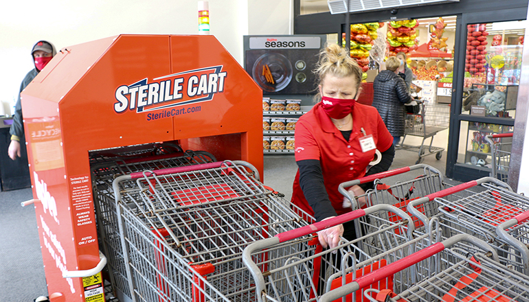 Hy Vee Sterile Cart System