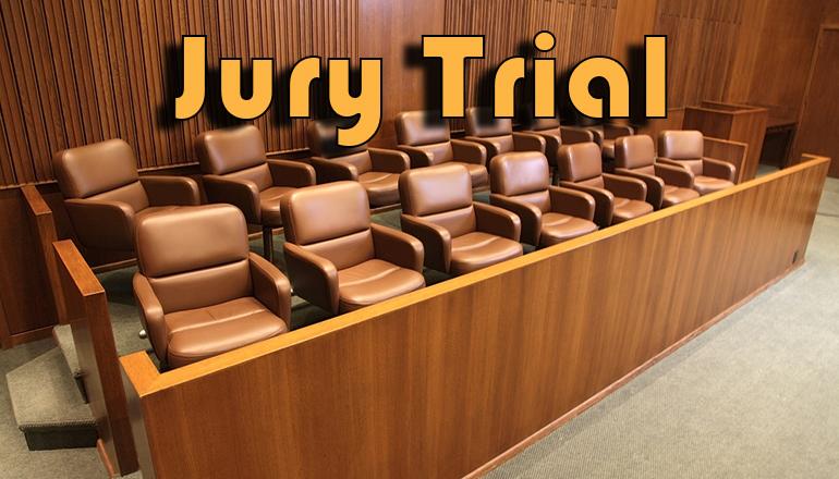 Jury Trial news graphic