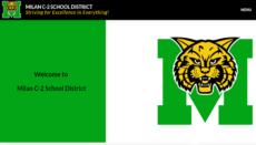 Milan School District Webpage