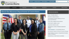 Missouri Department of Corrections website