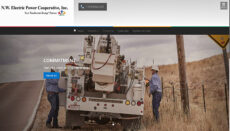 NW Electric Cooperative in Cameron Website