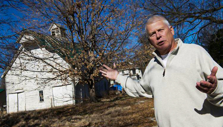 Paul Callicoat had plans to convert the former Sarcoxie Nursery into a medical marijuana cultivation facility (Joplin Globe file photo).