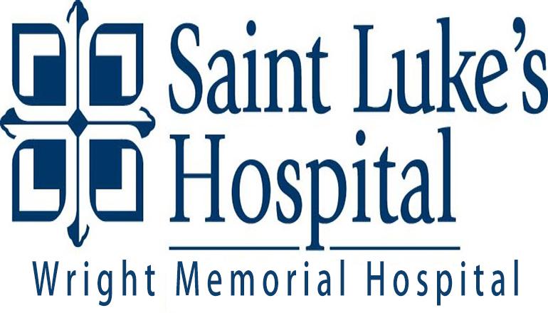 St Lukes Hospital (WMH) or Wright Memorial Hospital Logo