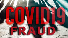 COVID-19 Fraud graphic