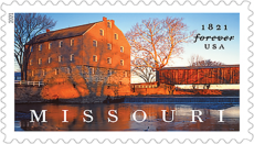 Missouri Postage Stamp