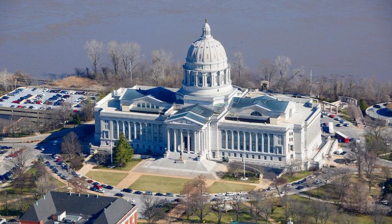 Missouri State Capitol courtesy of WikiMedia
