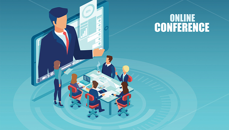 Online Conference Graphic