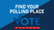 Polling Place Vote Graphic by Randall Mann