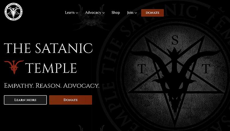 Satanic Temple website