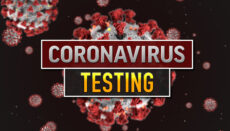 Coronavirus or COVID-19 Testing news graphic