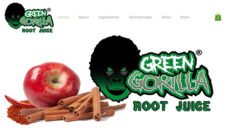 Green Gorilla Root Juice Website