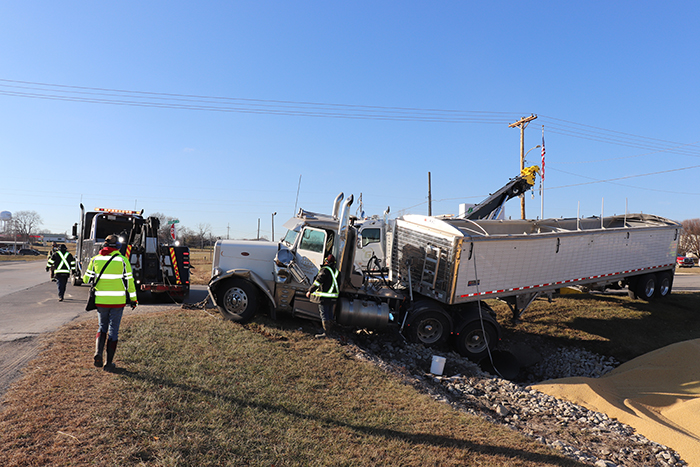 18-Wheeler Crash on 28th Street