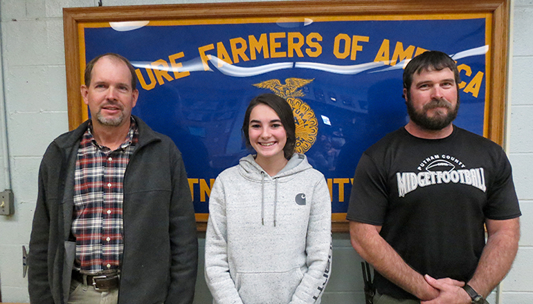Kaitlyn Rouse Career and Technical Education Student of the Month for November 2020