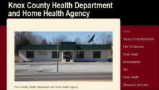 Knox County Health Department website