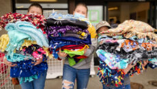 Missouri 4-H make blankets