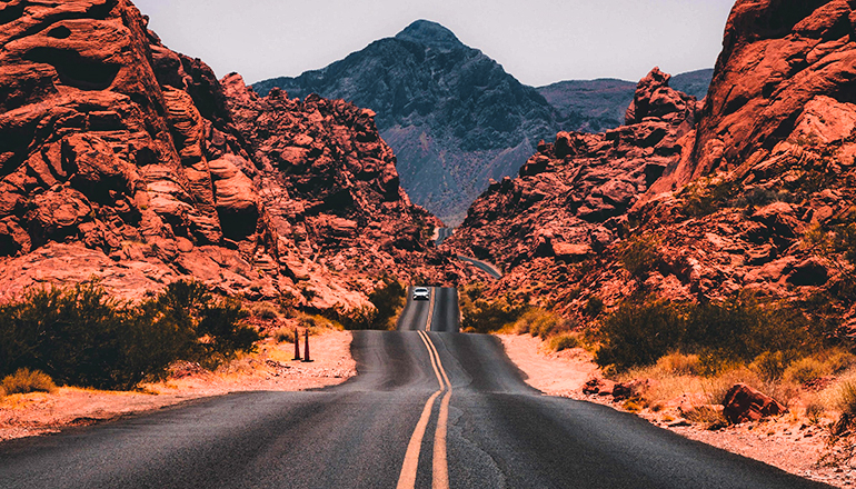 Travel or Road or car or highway