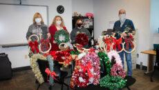 Upward Bound Students at NCMC christmas project