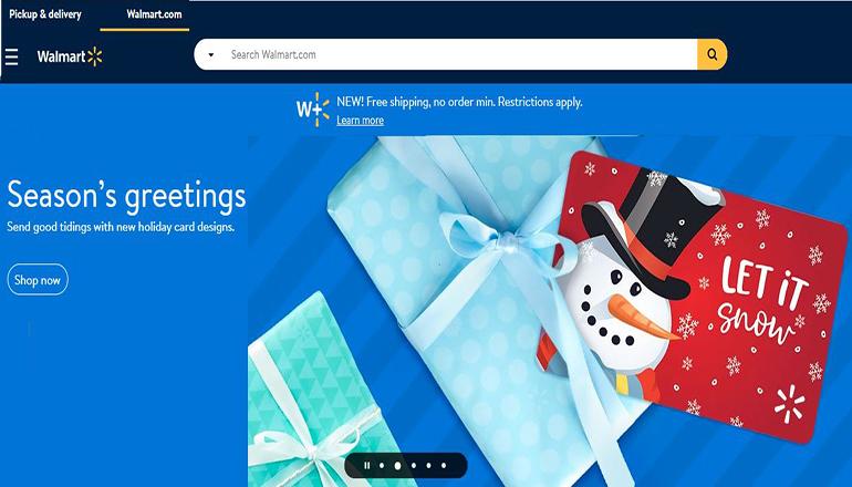 Walmart Christmas Website