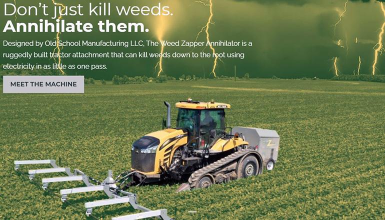Weed Zapper website V1