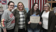 Abbie Casady as the Career and Technical Education Student of the Month
