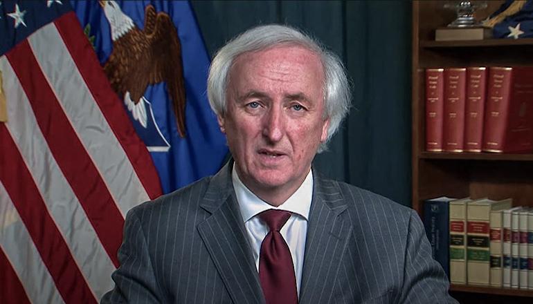Acting Attorney General Jeffrey Rosen