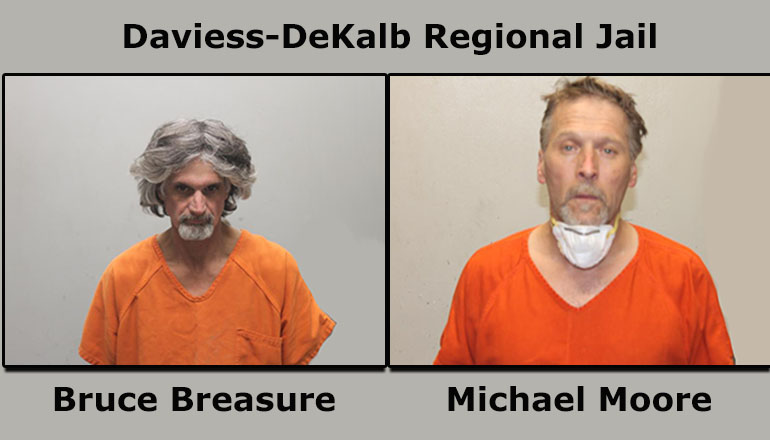 Bruce Breasure and Michael Moore Booking Photo
