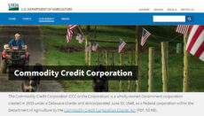 Commodity Credit Corporation (USDA) website