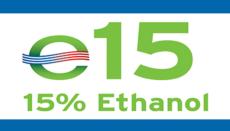 Ethanol or E-15 logo