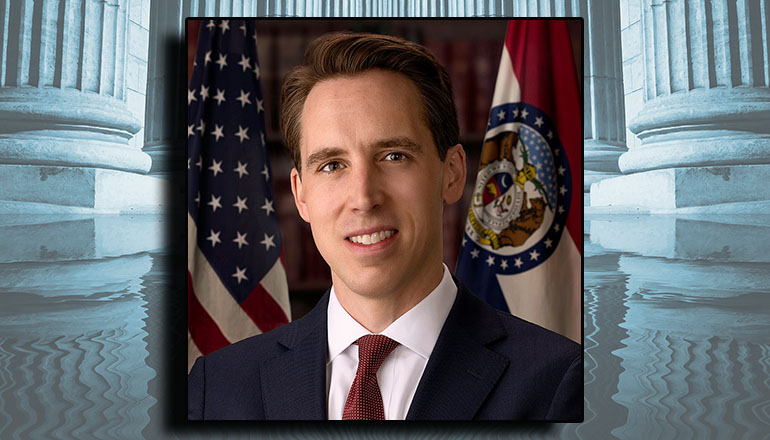 Josh Hawley official Congressional photo