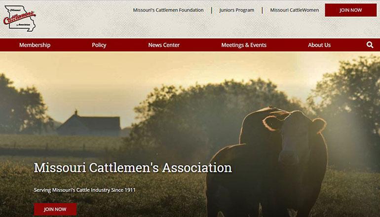 Missouri Cattlemen's Association Website