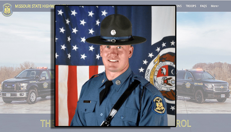 Missouri State Highway Patrol Trooper Graydon Gaines