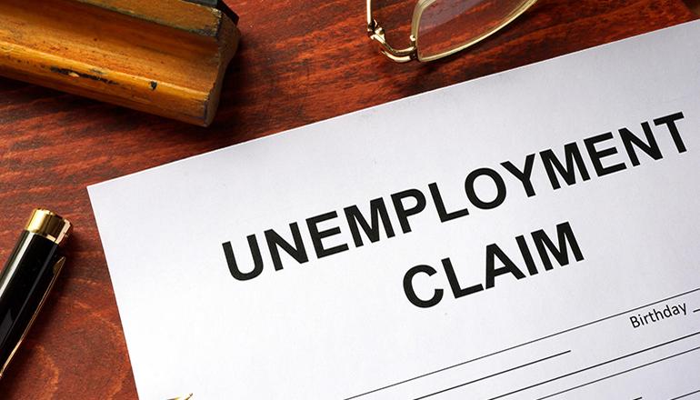 Unemployment Claim Graphic